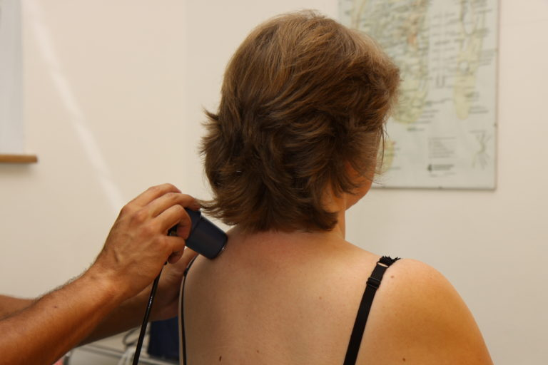 Aplikace ultrazvuku